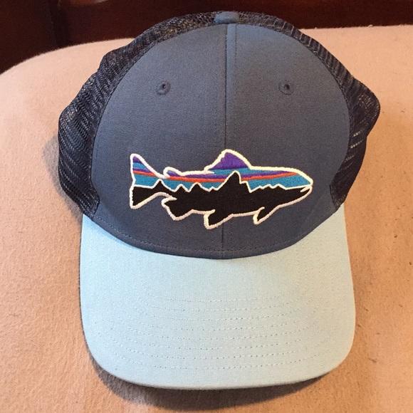 2cc41526fcb Patagonia Accessories - Patagonia blue fish hat. NWOT